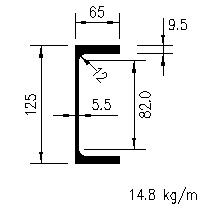 Parallel Flange Channels Bs5950 Sections Free Cad Blocks