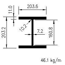 10 Table bandes large carré 25 x 152 x 1,5 Rabattu charnières.